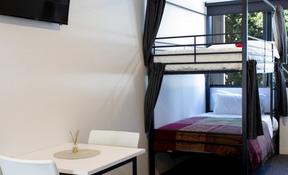 Twin Bunk Share Studio Apartment