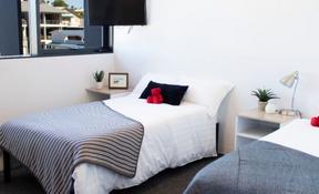 Twin King Single Share Studio Apartment