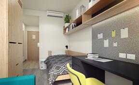 Single Ensuite room in 6 person Apartment