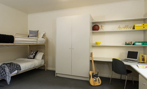 Residences/Hostel: Twin Share Room
