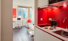 Bronze Studio Upper Level Premium City View