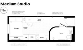 Medium Studio (Regular Class)