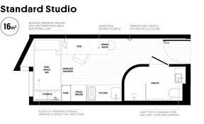 Standard Studio (Corner View)