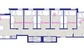 5 Bedroom Apartment - Standard Room