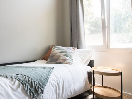 Well-equipped single bedroom in The Hague