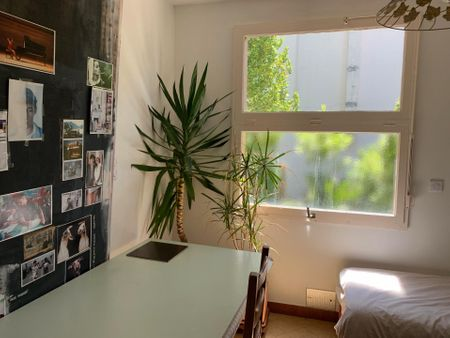 Single bedroom in a 5-bedroom house, near Parc de Bourran