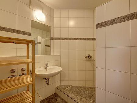 Tasteful bedroom in a 4-bedroom flat