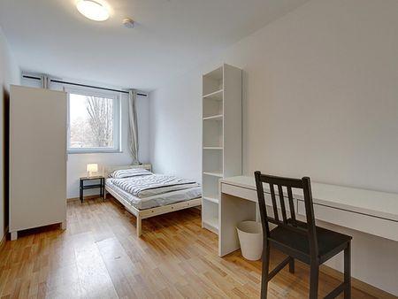 Cosy single bedroom in 4-bedroom apartment