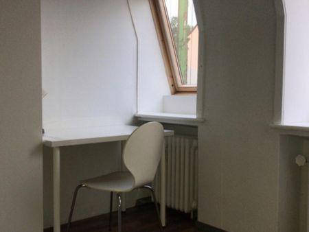 Comfortable single-bedroom in a 6-bedroom apartment in Bremen Altstadt right next to Wallanlagen Park