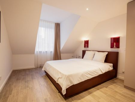 Modern and homely 1-bedroom apartment in the centre of Frankfurt