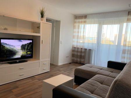 Bright & spacious 2-bedroom apartment in Nuremberg, 600 meters to Bauernfeindstr. metro station