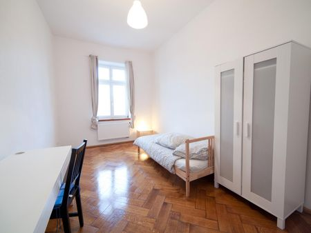 Neat single bedroom near the Silberhornstraße metro