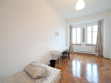 Neat single bedroom near the Silberhornstraße metro