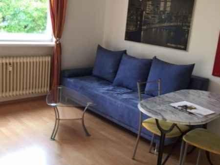 Wonderful 1-bedroom apartment in Munich, near Olympiapark