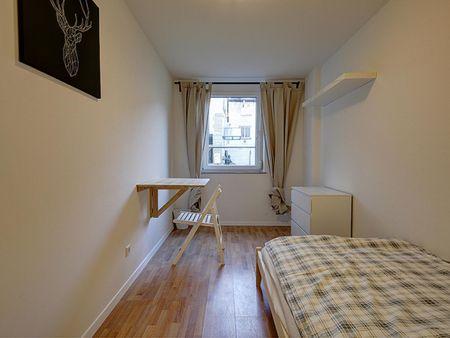 Comfortable single bedroom in Bad Cannstatt