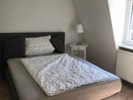 Double bedroom in a 4-bedroom apartment near Frankfurt Hauptbahnhof metro station