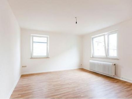 Well-lit unfurnished flat in a residence near University of Wuppertal
