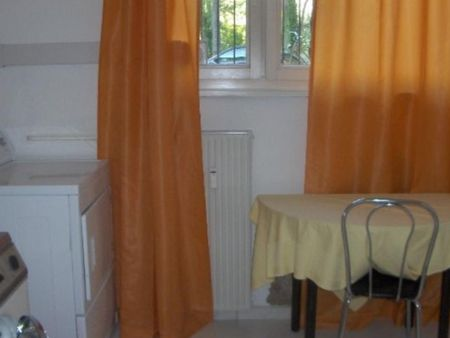 Wonderful 1-bedroom apartment in Munich, Schwabing right directly at Olympiapark
