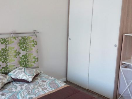 Double bedroom in 3-bedroom apartment. Total new apartment.