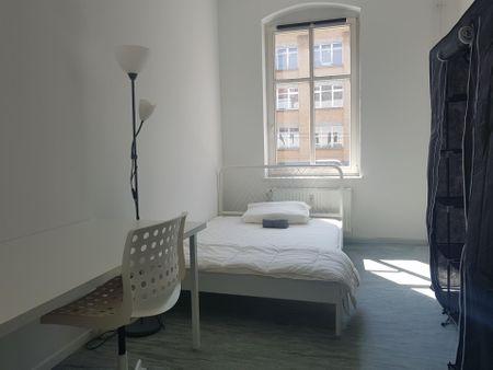 Student-friendly single bedroom in Moabit