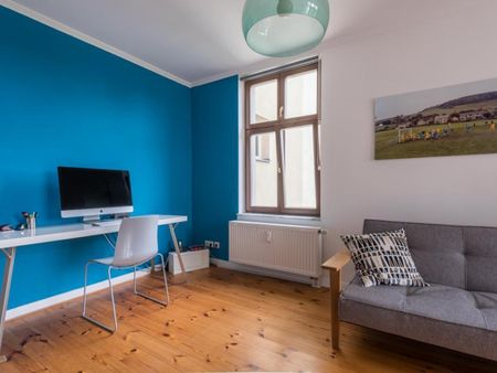 Awesome 1-bedroom flat with a balcony, in Mitte