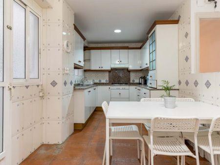 Welcoming double bedroom in Benimaclet