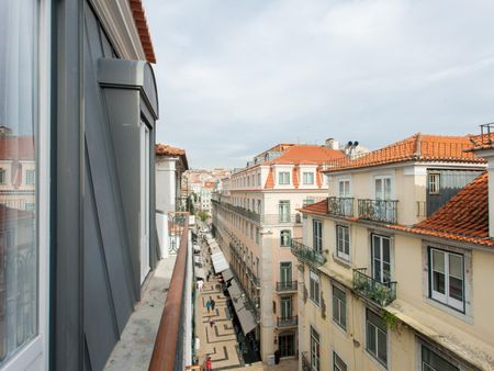 Attractive 2-bedroom apartment in the downtown of Lisbon
