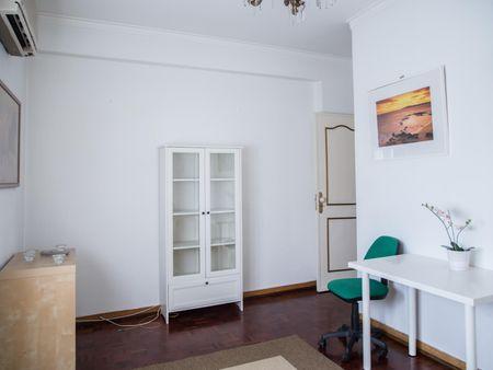 Shining double bedroom close to Escola Superior de Comunicação Social (ESCS)