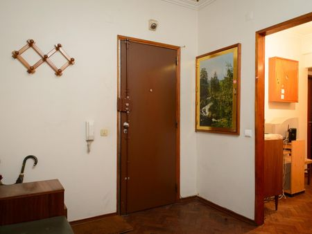 Nice double Bedroom in large 3-bedroom apartment