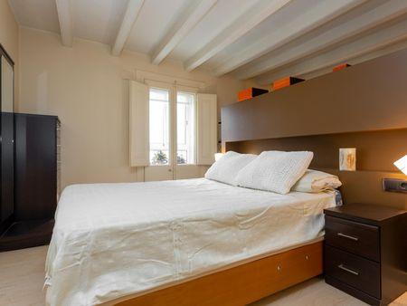 Wonderful 1-bedroom apartment near Gràcia transit stop