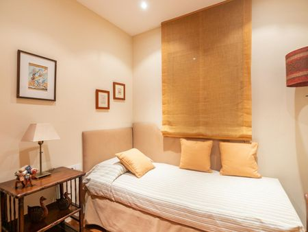 Charming 3-bedroom apartment near Passeig de Gràcia metro station