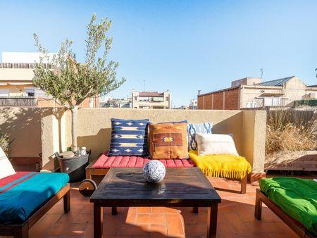 Unique Roof Top Apartment Sagrada Familia