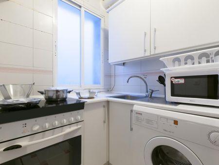 Nice 1-bedroom apartment near Cruz del Rayo metro station