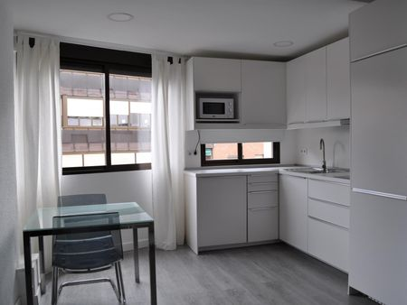 Bright studio close to Colombia metro station