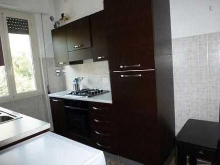Cool single bedroom close to Roma Tre university