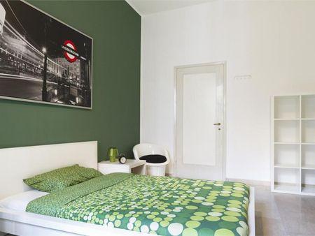 Stylish double bedroom near Università degli Studi di Milano