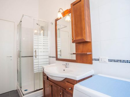 Bed in a twin bedroom close to Mirti metro station