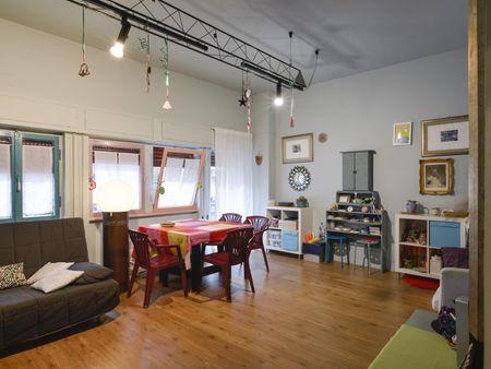 Wide single bedroom in a 2-bedroom apartment, in Tufello
