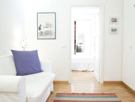 Bright 2-bedroom apartment in Monteverde, close to Trastevere
