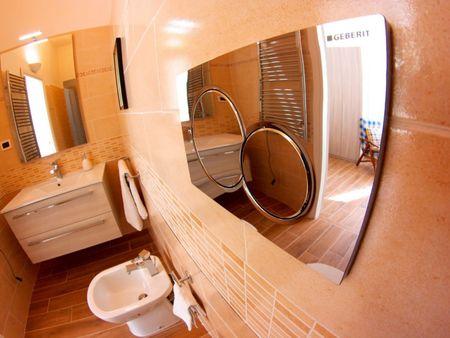 Double bedroom near Villa Fiorelli park
