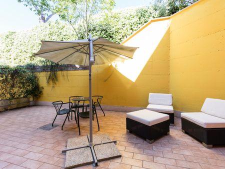 """Lovely 1-bedroom flat in a residence, in proximity of Università degli Studi di Roma """"Tor Vergata"""""""