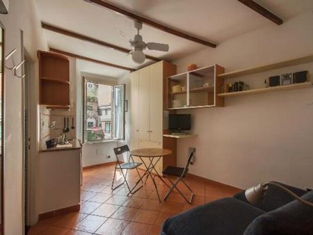 Graceful studio apartment in the heart of Rome
