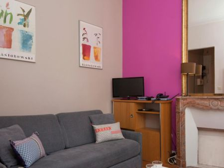 Modern 1-bedroom apartment near Étienne Marcel metro station