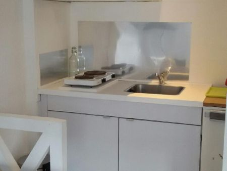 Modern studio apartment close to François-Verdier metro station