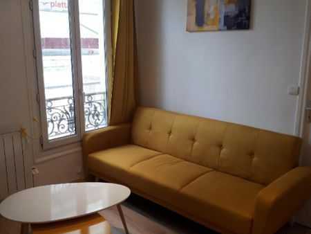 Nice 1-bedroom apartment in Clichy