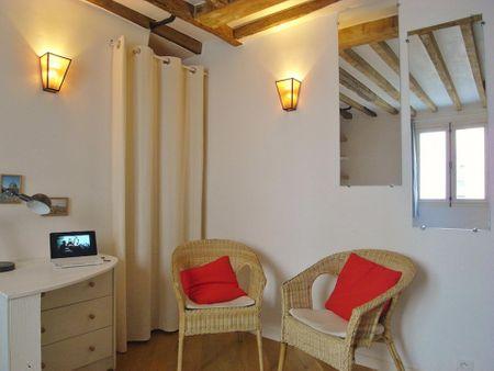Amazing Studio in 4e - Hôtel de Ville, in the ile de Saint-Louis
