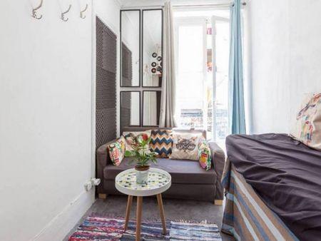 Pure parisian hausmanien appartment - 1800 building / close montmartre