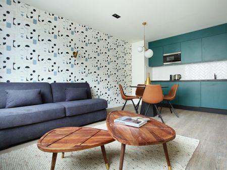 Homely 1-bedroom apartment near Parc Henri Barbusse