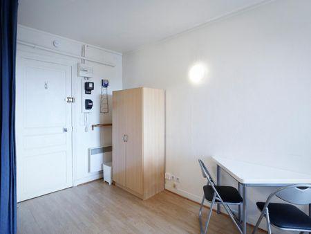 Studio proche UNIVERSITE DAUPHINE Boulevard Suchet 75016