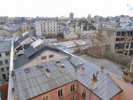 Compact studio next to the Saint-Sébastien - Froissart metro